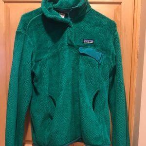 Jackets & Blazers - Patagonia Fleece 1/4 Snap Better Sweater In Green